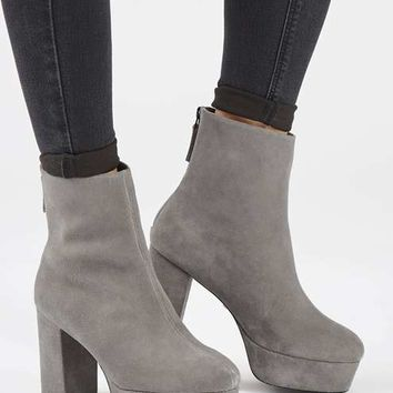 HELLO Platform Boots - Shoes