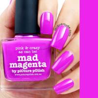 Picture Polish Mad Magenta Nail Polish