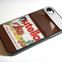 NUTELLA iphone 4 case iphone 5 case samsung galaxy S3 case