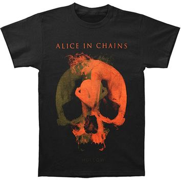 Alice In Chains Men's  Fetal 2013 Tour T-shirt Black