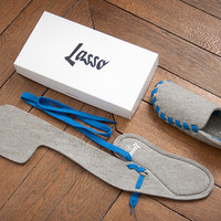 Lasso Flat-Packed Slippers | Uncrate