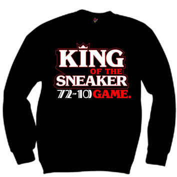 The Fresh I Am Clothing Sneaker Game King 72-10 11's Crewneck
