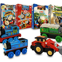 Thomas and Friends Movie & Train Set Collection # 7 (Thomas And Friends - High Speed Adventures / Track Stars / Thomas' Trusty Friends / Snowy Surprise And Other Adventure)