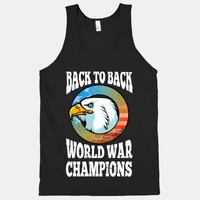 Back to Back World War Champions (Tank)
