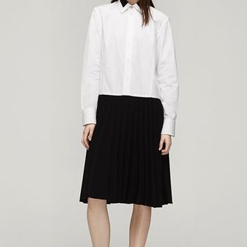 Rag & Bone - Courchevel Shirt Dress, White