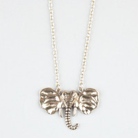 Full Tilt Elephant Necklace Gold One Size For Women 23891162101