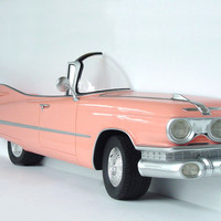 Pink Cadillac Car Wall Decor