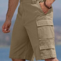 KingSize Big  Tall Travelers Cargo Shorts Boulder Creek