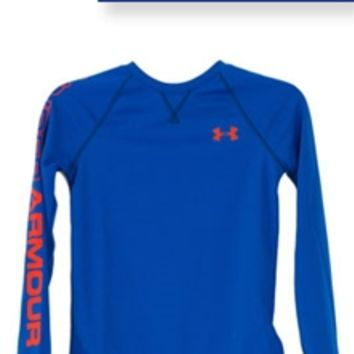 Under Armour Dynamism Long Sleeve Thermal for Boys 1249161-406
