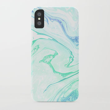 Emerald garden iPhone Case by Printerium