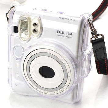 Fujifilm Instax Mini 50 50S Camera Case Crystal Clear Transparent Protection