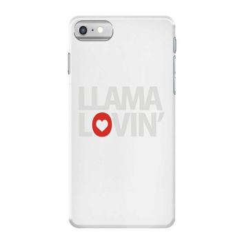 llama lovin' lover iPhone 7 Case