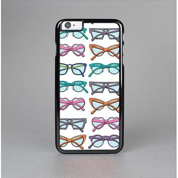 The Various Colorful Vector Glasses Skin-Sert for the Apple iPhone 6 Skin-Sert Case