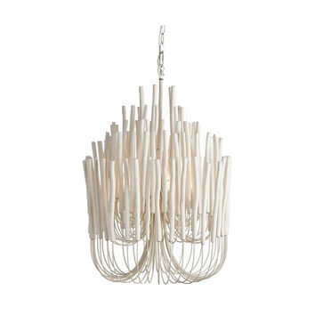 Tilda Iron/Wood Chandelier