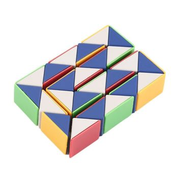 Snake Magic 3D Cube Game Puzzle Twist Toy Party Travel Family Child Gift Good for Promoting Children's Intelligence