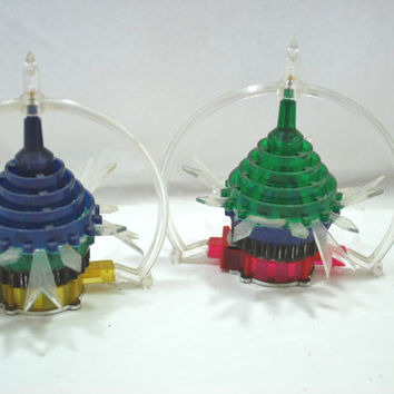 Christmas Spinners Light Cover Motion on Heat Tree Ornament