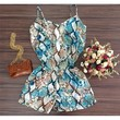 654354 Cute Spring Summer stylish Party Sleeveless SEXY Dresses   Candy Blue Shop