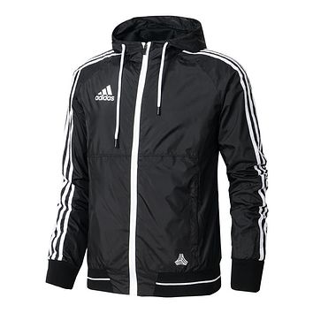 Trendsetter Adidas Men Cardigan Jacket Coat Windbreaker