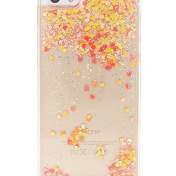 Glitter Heart Case for iPhone 5