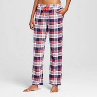 Women's Flannel Pant Anthem Red - Xhilaration™