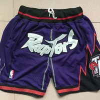 Just Don Toronto Raptors Classic Purple Short - Best Deal Online