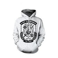 A Day To Remember: Snake Pit (Ash Grey) Hoodie