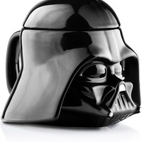 Oversized Star Wars Darth Vader 20 Oz Ceramic Lidded Mug