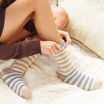 Striped Wooly Boot Sock - Urban Outfitters