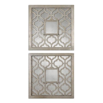 You should see this Sorbolo Mirror in Antique Silver Leaf (Set of 2) on Daily Sales!