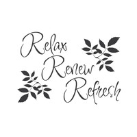 """wall quotes wall decals - """"Relax, Renew, Refresh"""""""