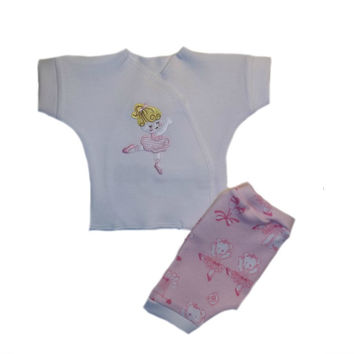 Baby Girls' Dancing Ballerina and Bears Shorts Clothing Outfit
