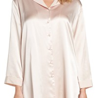 Christine Silk Sleep Shirt | Nordstrom