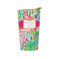 Lilly Pulitzer 13 oz. Travel Mug- Spot Ya- FINAL SALE
