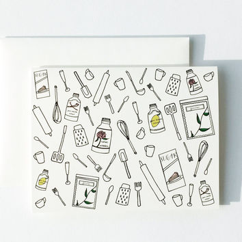 Cooking Utensils Card