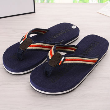 Stylish Design Rubber Fashion Soft Summer Sandals [10210884428]