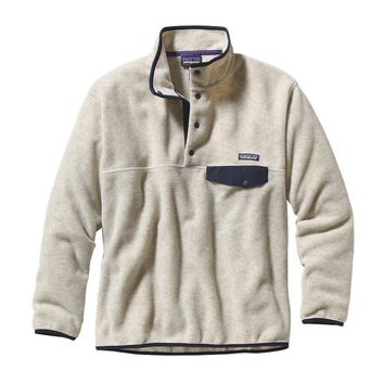 Patagonia Men's Synchilla® Snap-T® Fleece Pullover | Underwater Blue