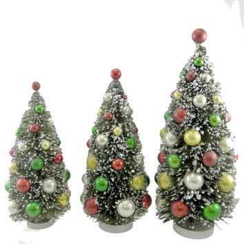 Best bottle brush christmas trees products on wanelo for Bottle brush christmas tree decorations