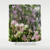 Floral Me This Shower Curtain by Gwendalyn Abrams