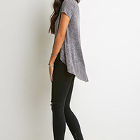 Heathered Trapeze Tee