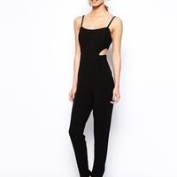 New Look Strappy Cut Out Jumpsuit