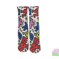 Keith Haring 2 Pop Socks