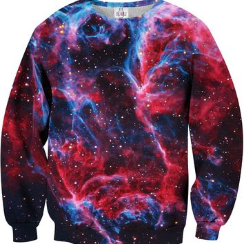 RED NEBULA Printed Unisex Sweatshirt