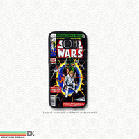 Star Wars Classic Comic Book, Custom Phone Case for Galaxy S4, S5, S6