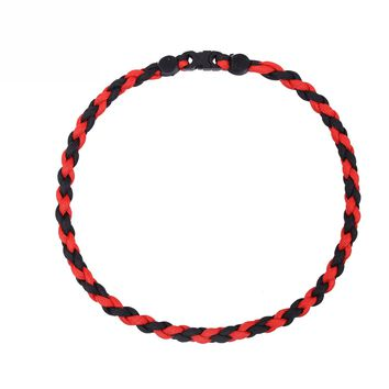 Thin Red Line Paracord Necklace