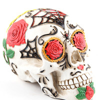 80% OFF! A Sugar Rose Skull