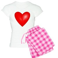 LOVE HEART VALENTINES DAY PAJAMAS