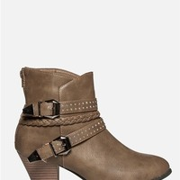 Multi Strap Ankle Booties
