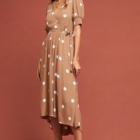 Bernice Polka Dot Wrap Dress