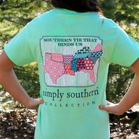 Preppy South Patch Tee