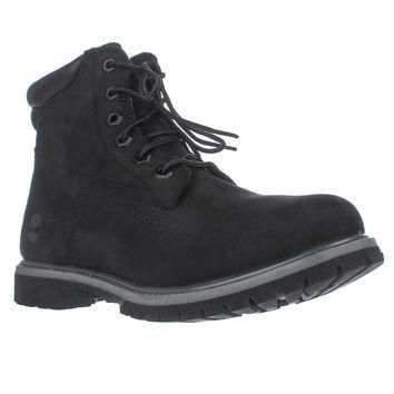 Timberland Watrvle Waterproof Ankle Boots, Black, 8.5 US / 39.5 EU